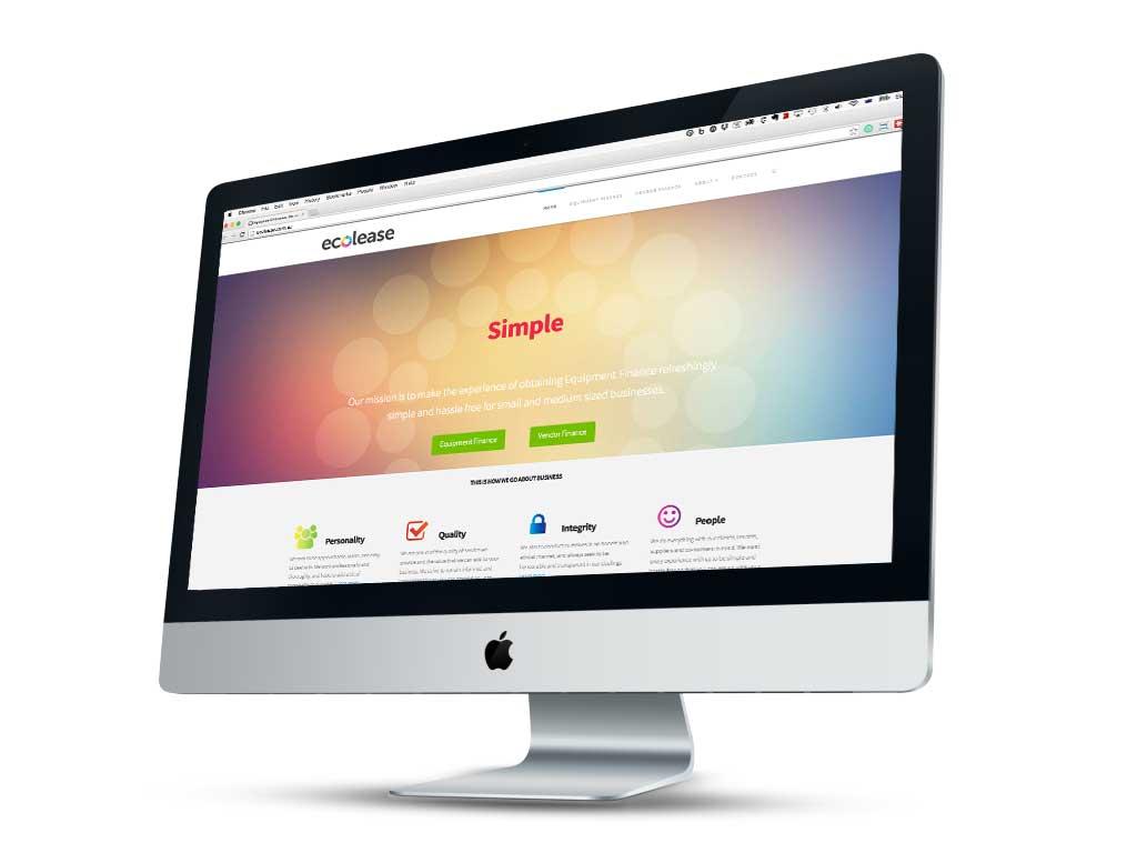 Ecolease website
